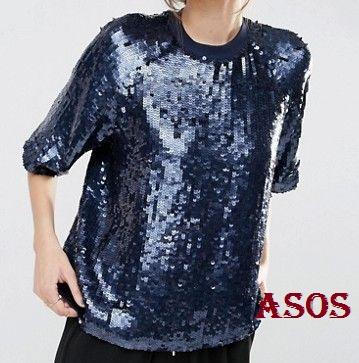 camiseta-punto-lentejuelas-azul-asos